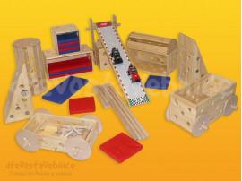 dřevěná Polikarpova stavebnice 06