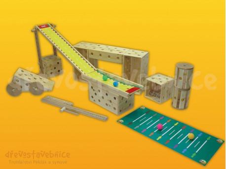 Polikarpova dřevěná stavebnice 04