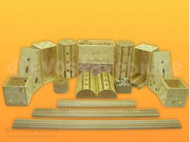 Dřevěná Polikarpova stavebnice 11