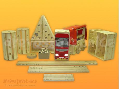 dřevěná Polikarpova stavebnice 12