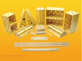 dřevěná Polikarpova stavebnice 05