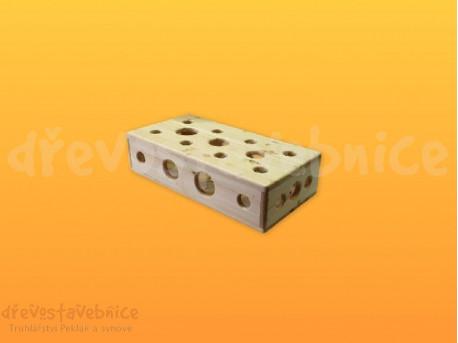 špagetový blok