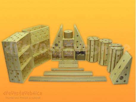 Polikarpova stavebnice sestava 10