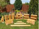 Polikarpova stavebnice zahradní set 22