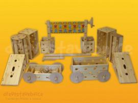 Polikarpova dřevěná stavebnice 03
