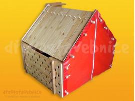 Polikarpova dřevěná stavebnice 30