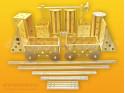 Polikarpova stavebnice sestava 28 (106 dílů)