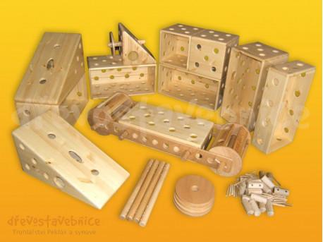 dřevěná Polikarpova stavebnice 14
