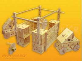 dřevěná Polikarpova stavebnice 16
