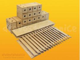 Dřevěná stavebnice Viráda sestava 01