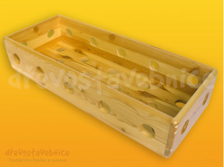 Polikarpova stavebnice nízký kvádr 70 cm