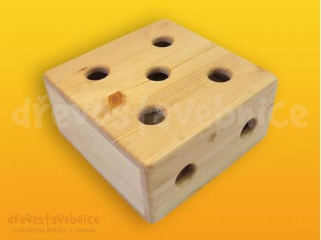 Dřevěná stavebnice Viráda - blok