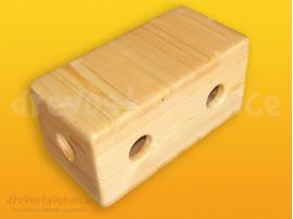 Dřevěná stavebnice Viráda - malý blok