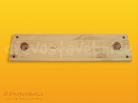 Dřevěná stavebnice Viráda - destička