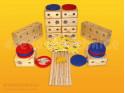 Dřevěná stavebnice Vira sestava 02