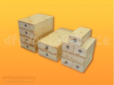 Dřevěná Otčenáškova stavebnice sestava 05
