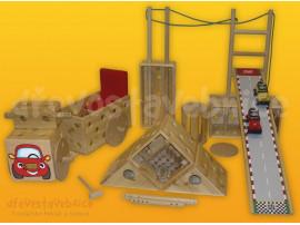 dřevěná Polikarpova stavebnice 21