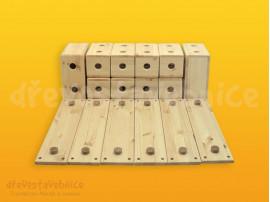 Dřevěná stavebnice Viráda sestava 02