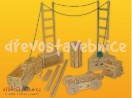 dřevěná Polikarpova stavebnice 13