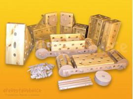 dřevěná Polikarpova stavebnice 15