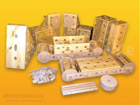 Polikarpova stavebnice sestava 15