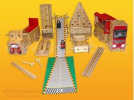 Polikarpova dřevěná stavebnice 20