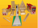 Polikarpova stavebnice sestava 20 (186 dílů)