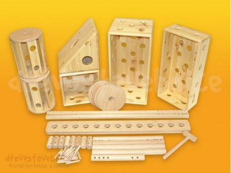Polikarpova dřevěná stavebnice 07