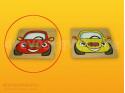Polikarp. stav. čelní destička červené auto