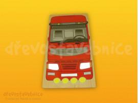 Polikarp. stav. čelní destička kamion