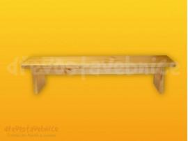 Cvičební lavička 120 cm s kladinkou