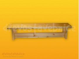 Cvičební lavička 130 cm s kladinkou